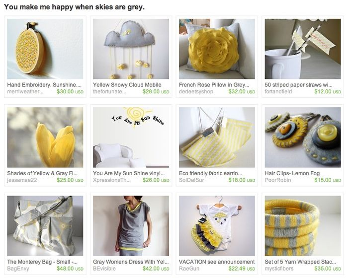 You make me happy when skies are grey treasury