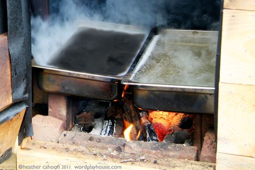 Maple-sugaring-pans