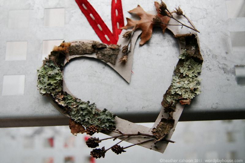 Nature-heart-wreath-project