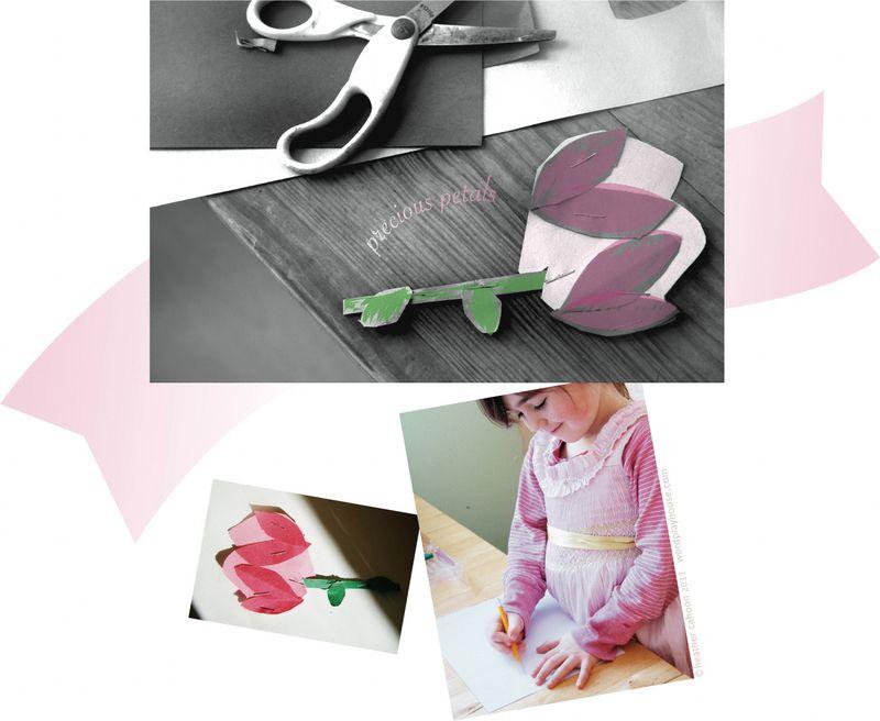 Pink-paper-flower