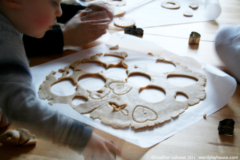 Children-cutting-out-sugar-cookies