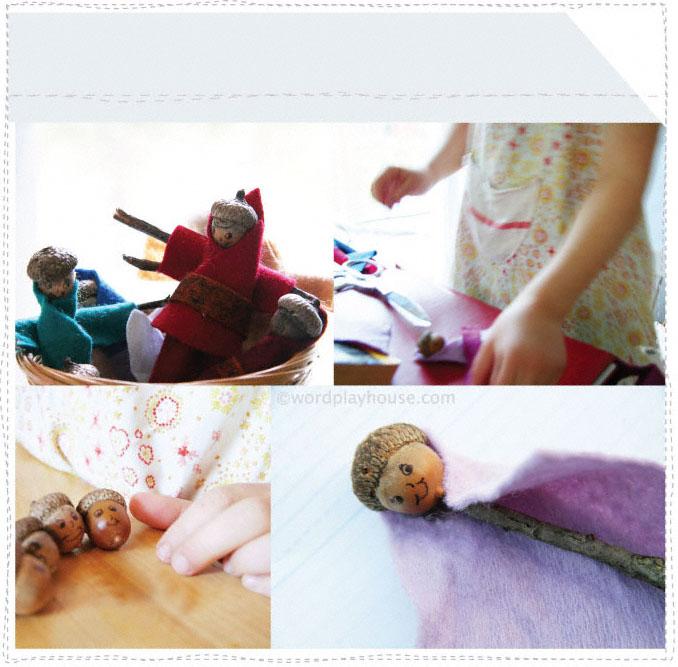 Wool-felt-fairies