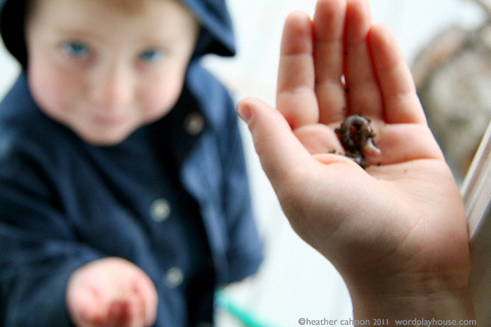 Gifts-for-mother-earthworm-in-child's-hand