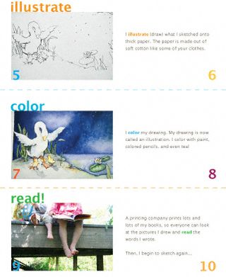 How-a-book-is-illustrated-printable-page-2-level-1