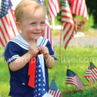 Sharing memorial day with children