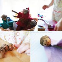 Make acorn fairies