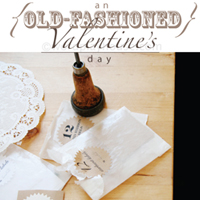 Old fashioned valentines