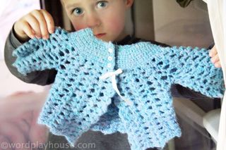 Handmade-baby-sweater