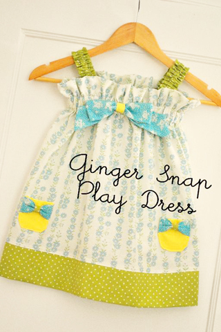 Pattern toddler dress