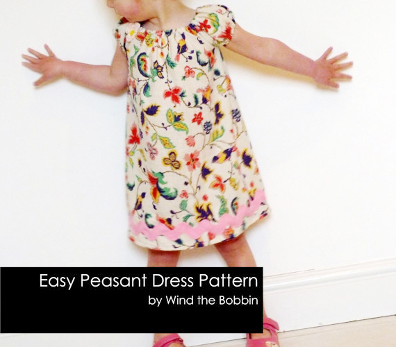 Girl dress pattern