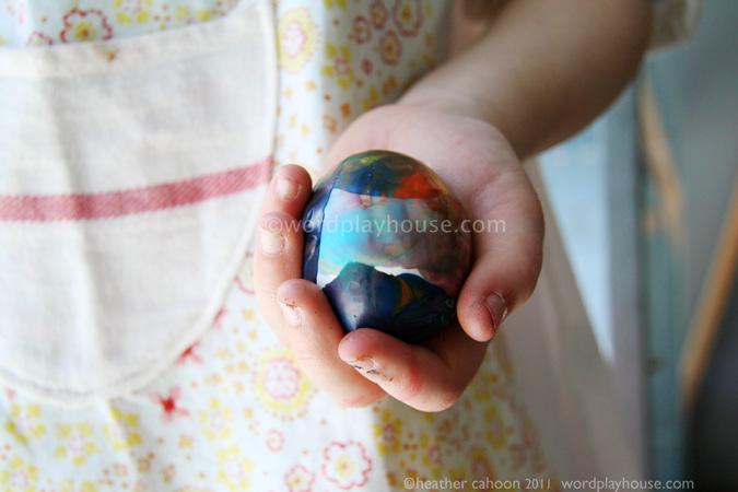 Crayon-wax-easter-eggs