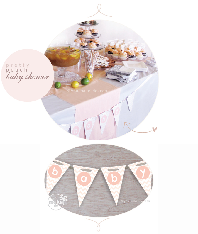Peach-baby-shower-ideas