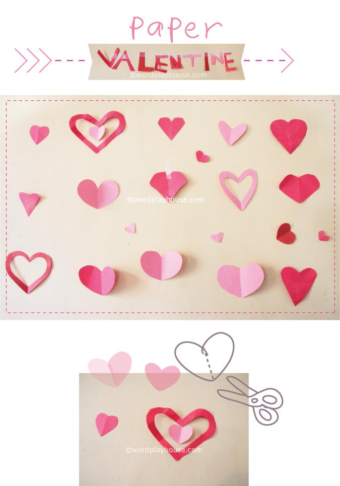 simple valentines - wordplayhouse®