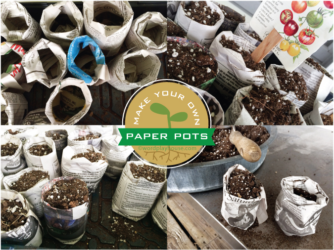 Make-newspaper-pots